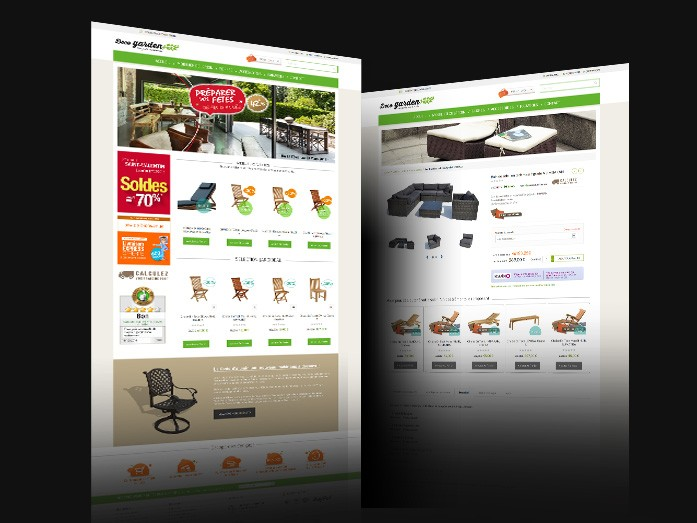 site sous magento decogarden